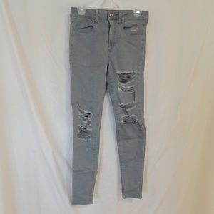 American Eagle Womens Super Stretch X HI RISE Jegg